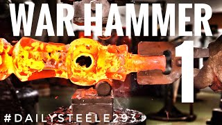 MAKING GENDRY'S WAR HAMMER: GAME OF THRONES : PART 1