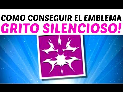 "Destiny | COMO CONSEGUIR EL EMBLEMA SECRETO ""GRITO SILENCIOSO"" (THE TAKEN KING)"