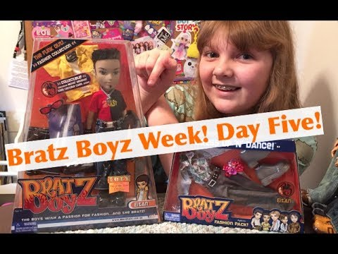 2004 Bratz Boyz Funk Out Eitan Doll with Dress Up & Dance Fashion Pack - Unboxing & Review
