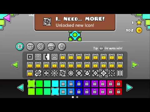 Geometry Dash 2.1 Unlock All + Coins!!!! (NO ROOT) | TheTutorialAli