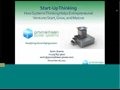 Start-Up Thinking: How Systems Thinking Helps Entrepreneurial Ventures Start, Grow, And Mature