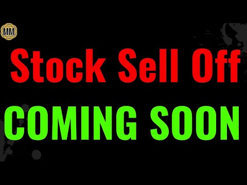 Stock market sell off coming soon according to multiple charts.