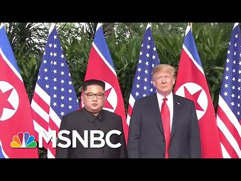 President Donald Trump On Meeting Kim Jong Un In Singapore: 'It's My Honor' | The 11th Hour | MSNBC