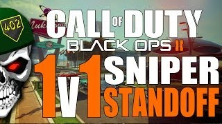 Call Of Duty Black Ops 2 - 1v1 Me Bro! Quickscope Vs Blackscope on Nuketown 2025! COD BO2 Sniping