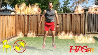 15 Min Tabata Workout - HASfit Metabolic Fire w/ Coach Kozak - Tabata Training Workouts