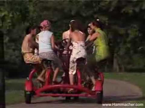 Hammacher and Schlemmer 7 Seater Tricycle