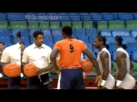 50 year old Oscar Robertson beats Cazzie Russell and Calvin Murphy in H-O-R-S-E