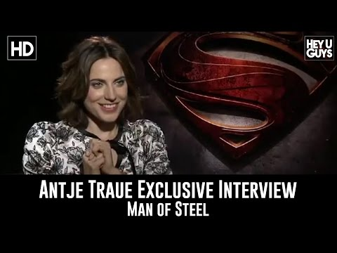 Antje Traue  Man of Steel Exclusive