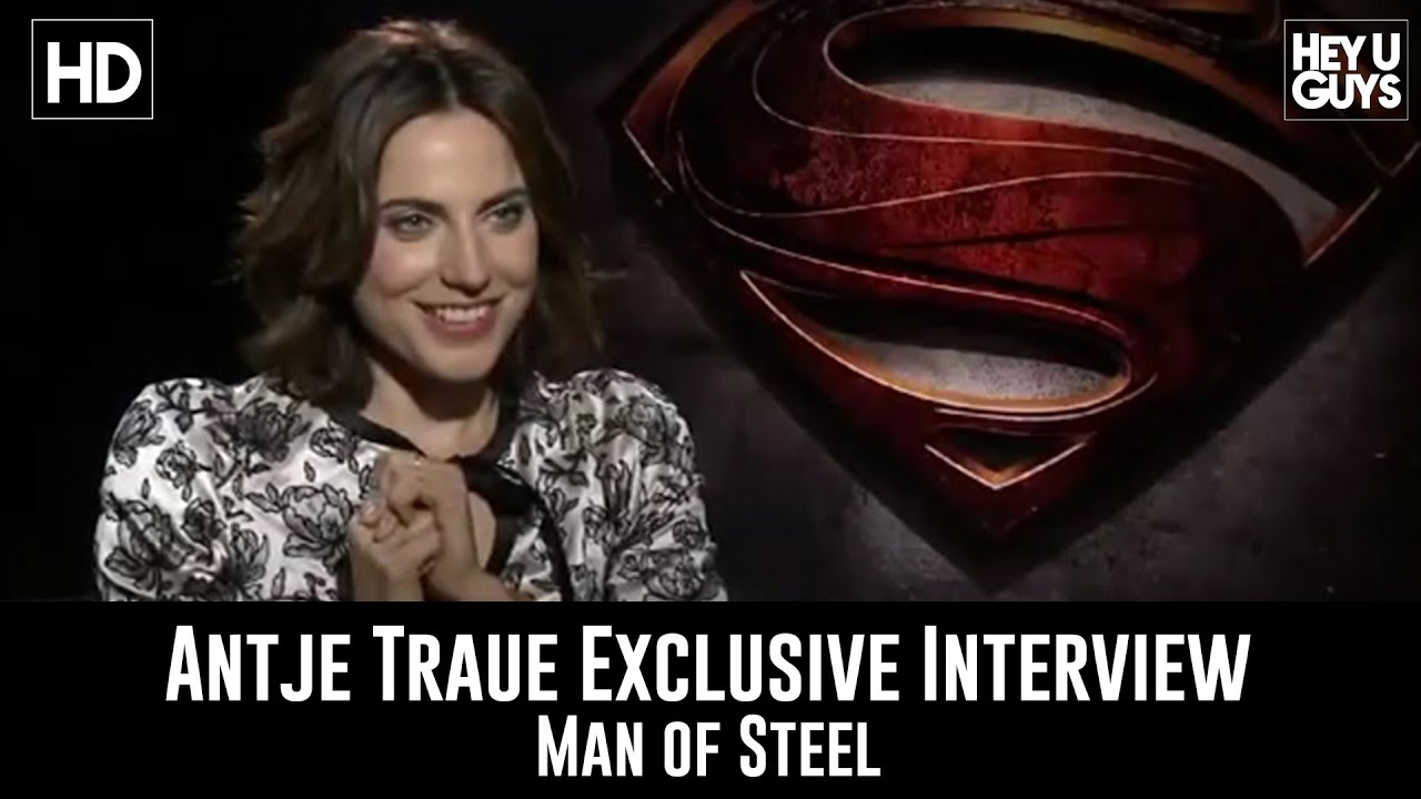 Video - Man of Steel Interview - Antje Traue | DC Movies