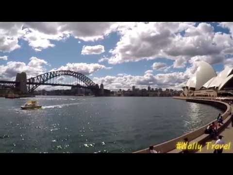 Wally's Travel Movie - Oceania - 8Min
