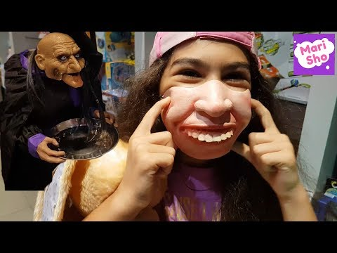 Prank | HALLOWEEN SHOP Dubai Mall | PRANK | Hamleys in Dubai Mall | Super MariSho