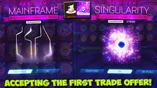 Accepting Everyone's FIRST Trade Offer in Rocket League... [MY BIGGEST TRADING VIDEO]