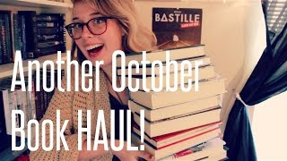EXCITING October Book Haul! Thumbnail