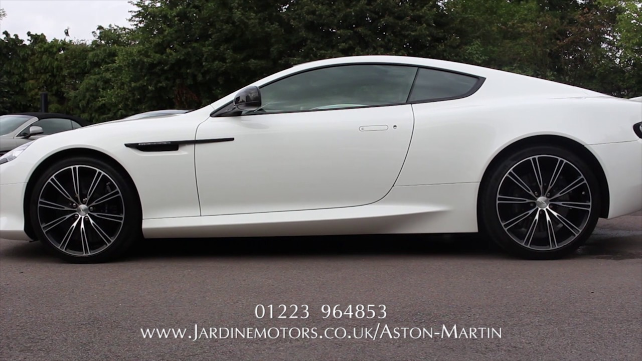Jardine motors group aston martin db9 carbon white for Jardine motors
