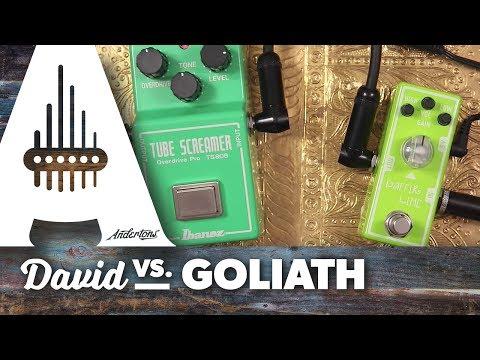 David Vs. Goliath - Tube Screamer 808 Pro Vs. Tone City Kaffir Lime