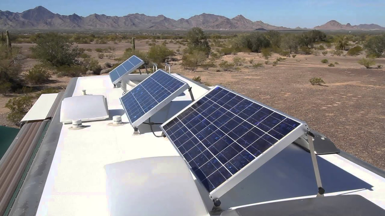 How to install a solar system on an rv - Optimize The Sun When Rv Boondocking It S More Than Just Solar Panels Youtube