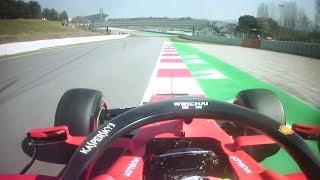 Vettel's Fastest Lap | F1 Testing 2019