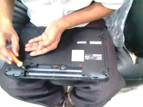 How to change keyboard of Fujitsu Lifebook AH531