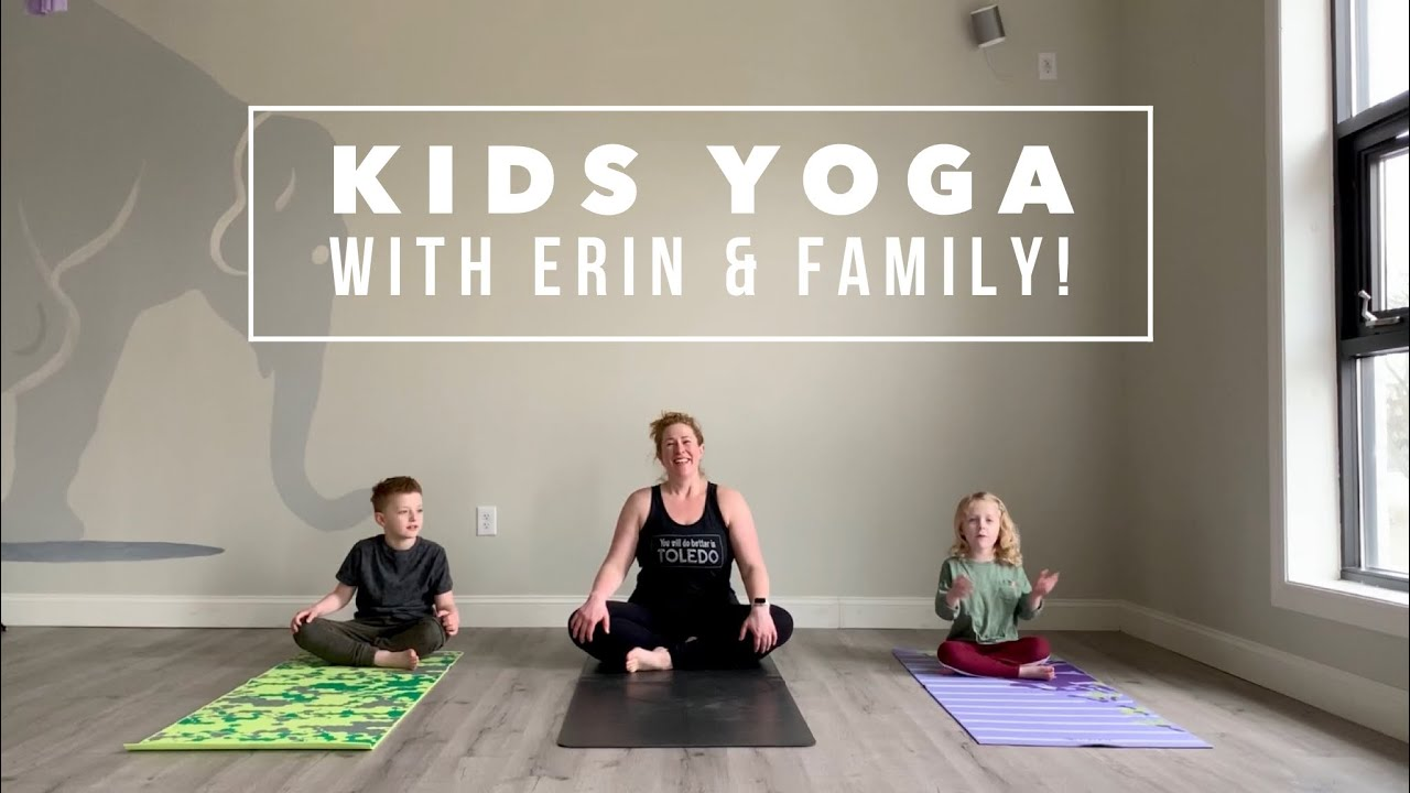 Free Adult and Kids Yoga Videos During Coronavirus