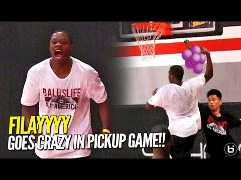 FILAYYYY Goes CRAZY In Pickup Game At BIL AAG!! Shows Off JELLY, JUMPER, & BOUNCE!!