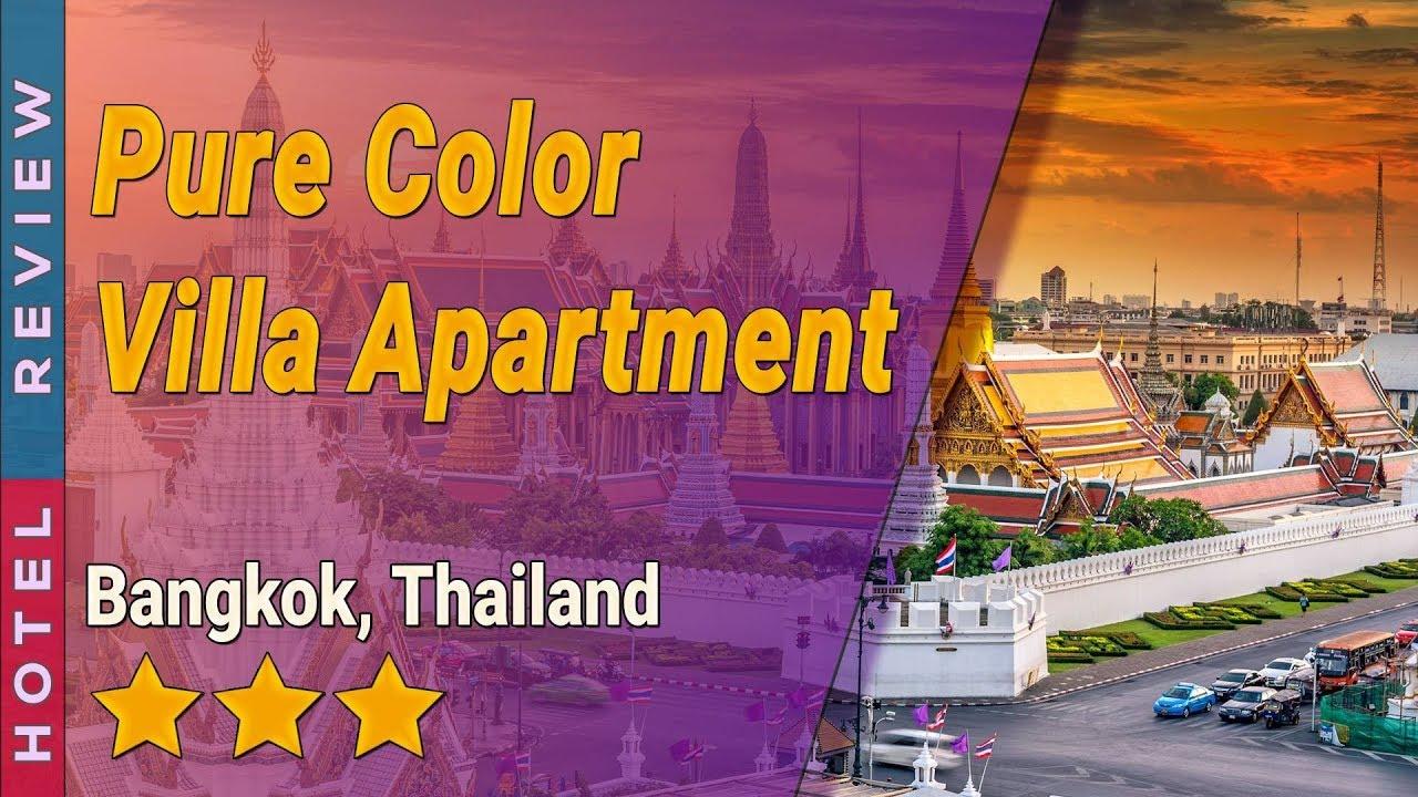 Pure Color Villa Apartment Hotel Review Hotels In Bangkok Thailand Hotels