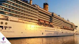 Costa Mediterranea at Cruise Hub of The Region - Port Rashid