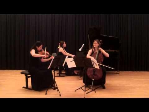 Wolfgang Rihm- Fremde Scene II - Danubia Piano Trio