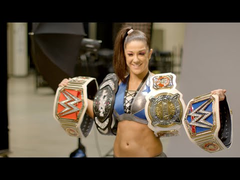 Behind the scenes of WWE Stomping Grounds with Bayley: WWE Day Of