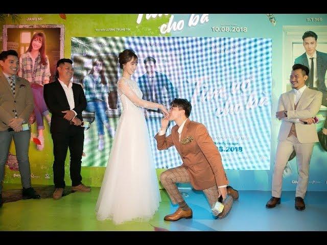 S.T quỳ gối, hôn Jang Mi giữa họp báo