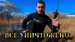 Подводная охота Электроудочники браконьеры убили все Инспектора против бессовестных рыбаков