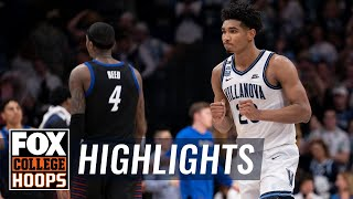 No. 14 Villanova holds off DePaul 79-75 in overtime thriller | FOX COLLEGE HOOPS HIGHLIGHTS