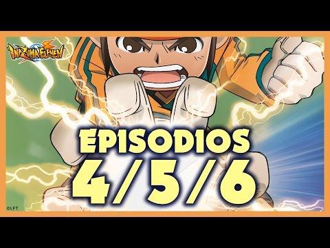 Episodios 4, 5 y 6 de Inazuma Eleven