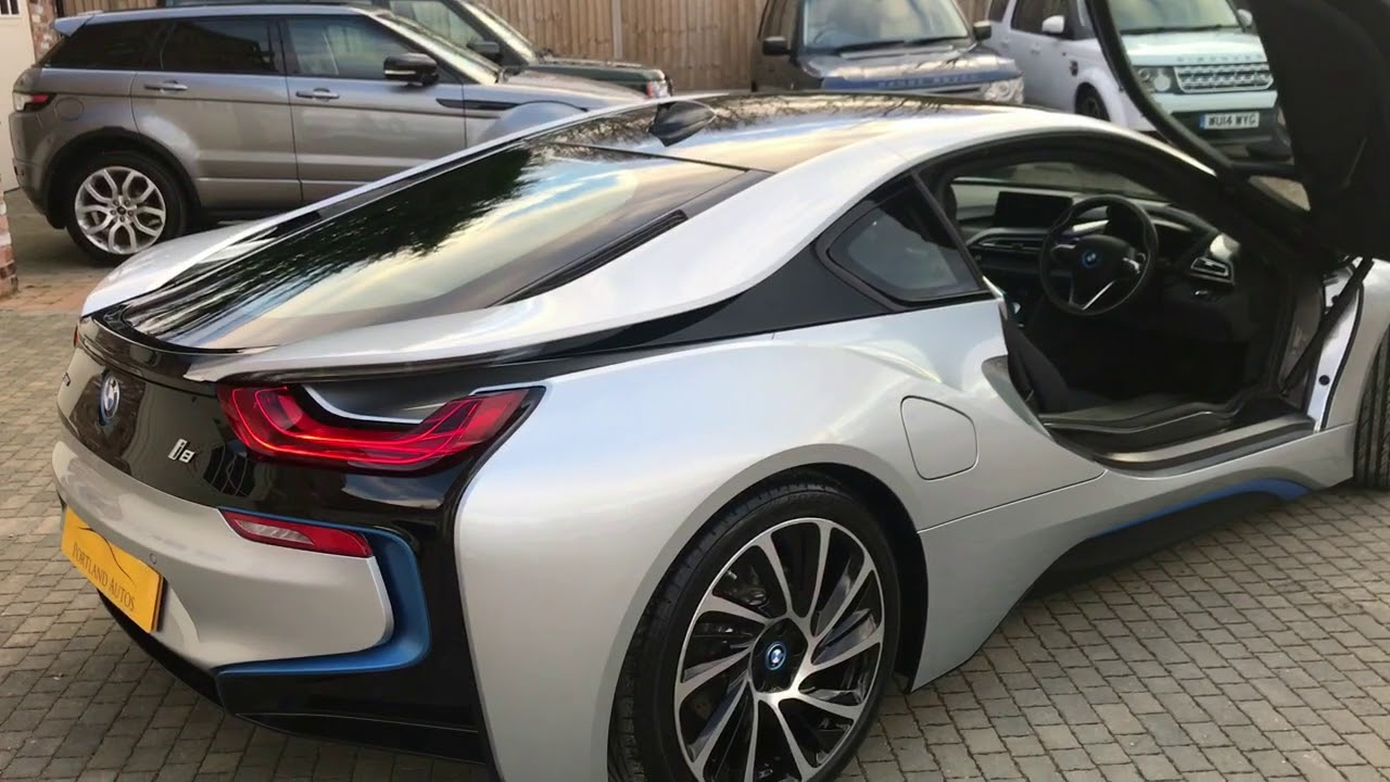 Bmw I8 In Silver For Sale One Owner Turbine Alloys Youtube