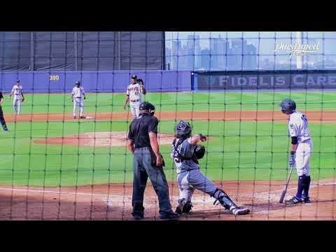 Kyle Gray, Infielder, Staten Island Yankees, RBI Single, Fifth Inning, June 24