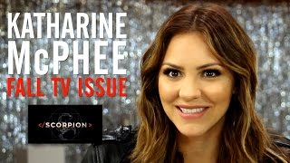 Scorpion Star Katharine McPhee Interview TheWrap Magazine Fall TV Issue Cover Shoot