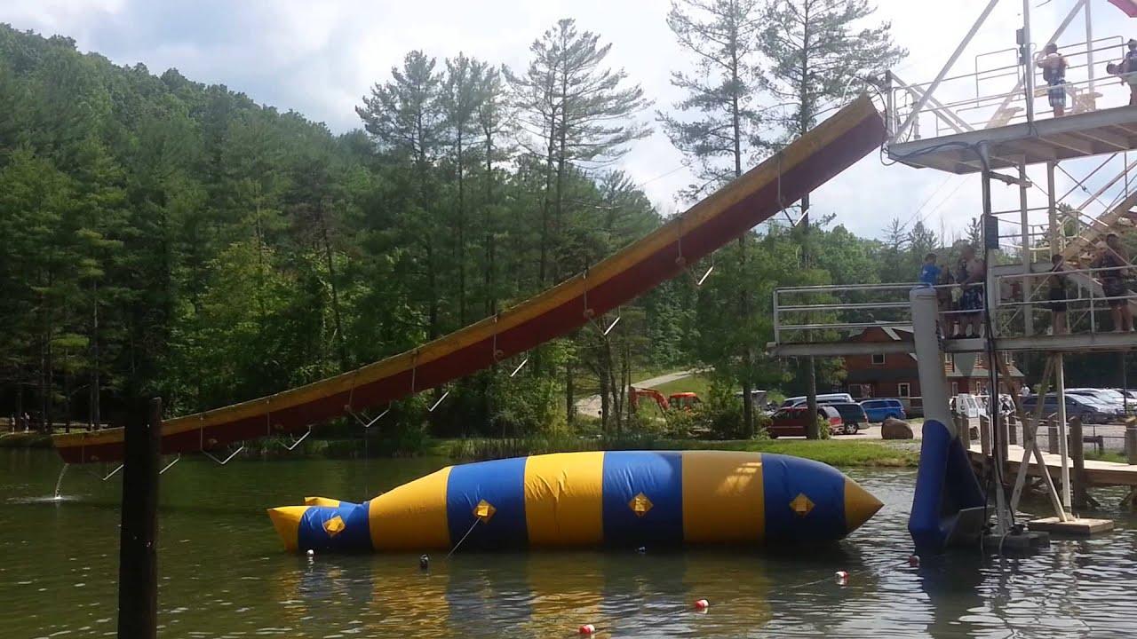 Freak Out Blob Ace Adventure Parks West Virginia Youtube