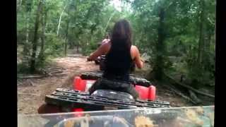 River run Atv park in Jacksonville Texas 2013