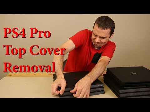 PS4 Pro Top Cover Removal...Without Breaking It!