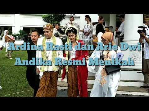 Ardina Rasti dan Arie Dwi Andika Resmi Menikah