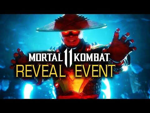 FULL Mortal Kombat 11 Official Gameplay Reveal Event | NetherRealm Studios