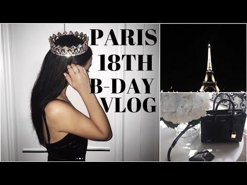 PARIS 18TH B-DAY VLOG! | Meeting fans, shopping, and hella food