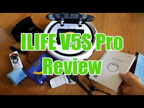 ILIFE V5S Pro Review: Unboxing and Cleaning Test
