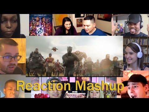 Marvel Studios' Avengers Infinity War Chant TV Spot REACTION MASHUP