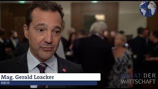 NR-Wahl 2019: Wirtschaftsprogramm NEOS - Dr. Gerald Loacker