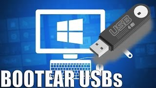 Como instalar Windows desde una USB (bootear USBs)