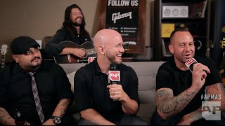 APMAs 2015: Taking Back Sunday interviewed in the GIBSON backstage lounge