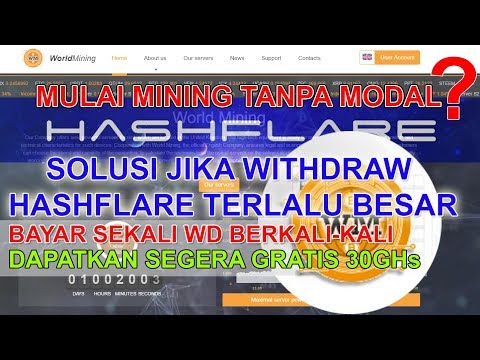 Review World Mining dan cara membeli Hash Power di World Mining