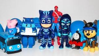 Фото Мультики Киндер Сюрприз Щенячий патруль Робокар Поли Герои в масках Мультики для детей Kinder Toys