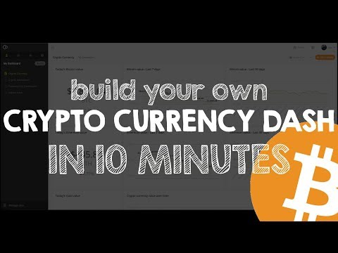 Build your own Bitcoin Dashboard in 10 minutes - S01E02