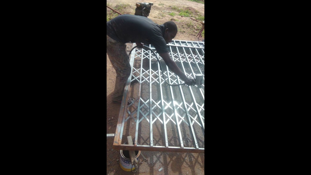 Building In Ghana Part 8 Burglar Proof Door Framing